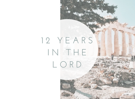 12 Years in the Lord