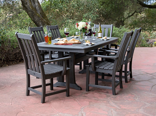 POLYWOOD® Vineyard 9-Piece Dining Set