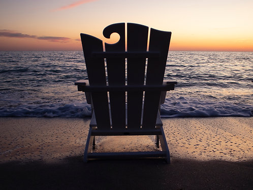 POLYWOOD® The Ocean Adirondack Chair