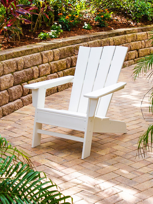 POLYWOOD® The Wave Adirondack Chair Right