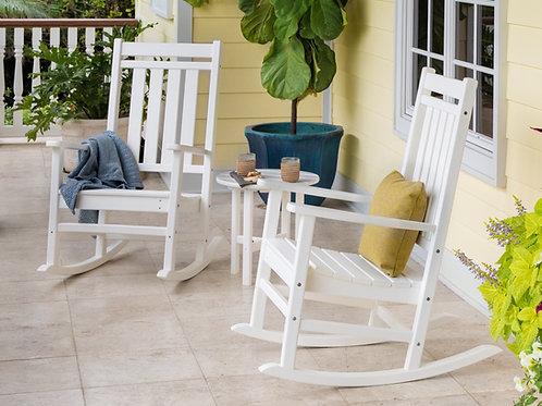 POLYWOOD® Estate 3-Piece Rocking Chair Set