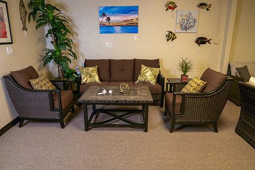 Sunvilla Pennant 5pc Seating Set