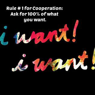 Ask for It All, Then Compromise