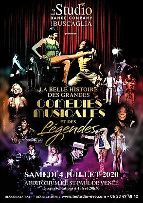 Flyer Belle Histoire des Comedies Musica