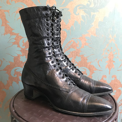 Antique Leather Boots
