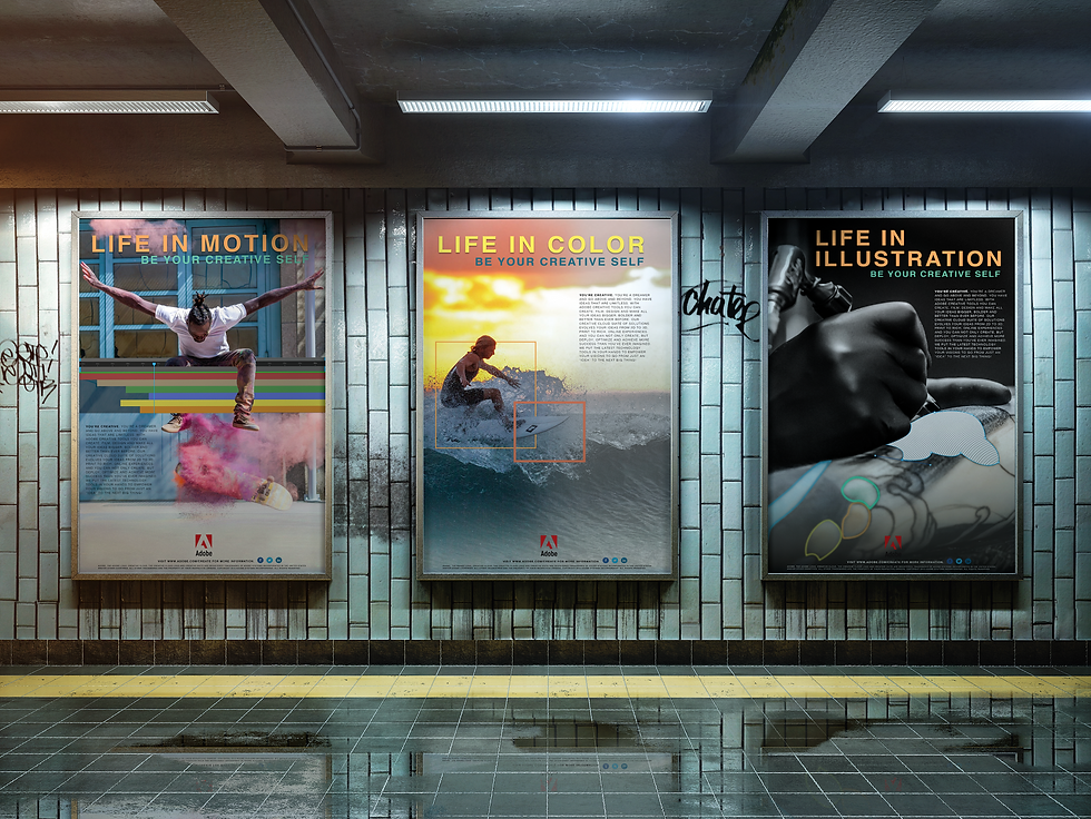 Adobe Create Posters
