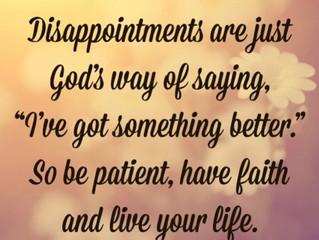God Always Has a Plan