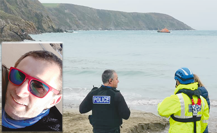 Hero Dad Helps Rescue Girls - Teacher swims out after teenagers get into trouble