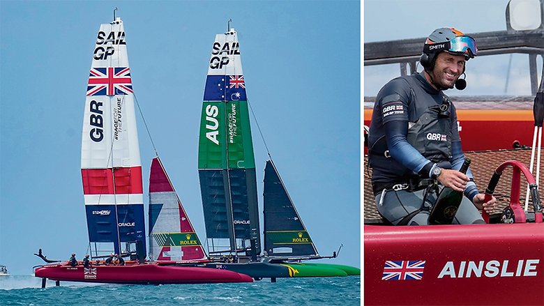 Ainslie starts Britain's Sail GP campaign with victory