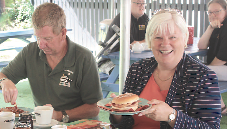 The Bodmin branch of the Armed Forces and Veterans Breakfast Club has a permanent home, linking up with the Lanivet Inn; group chair Derek Coad tips the club to really take off now. Photo Anthony Gault