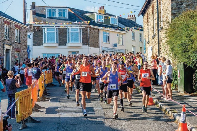Tywardreath running event under starters orders again