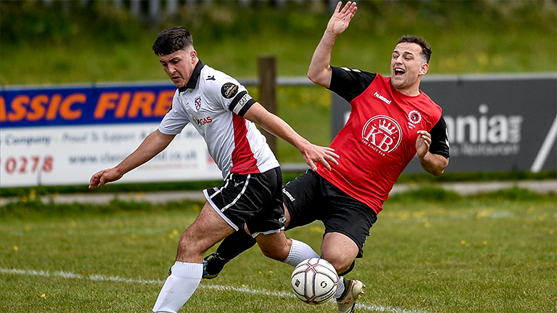 Shaw's last-gasp goal ends Town's hope of semi-finals