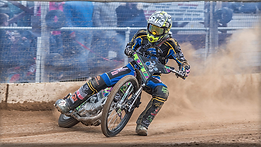 Plymouth finally began their 2021 Championship season at Scunthorpe on Sunday with the Scorpions easing to a 56-34 win, despite a six-ride maximum from Bjarne Pedersen.