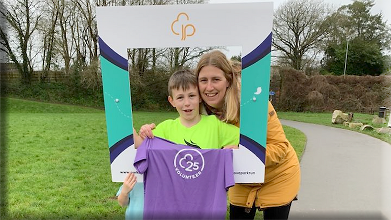 Bodmin's junior parkrun will return this Sunday, May 30. PICTURE: BODMIN JUNIOR PARKRUN