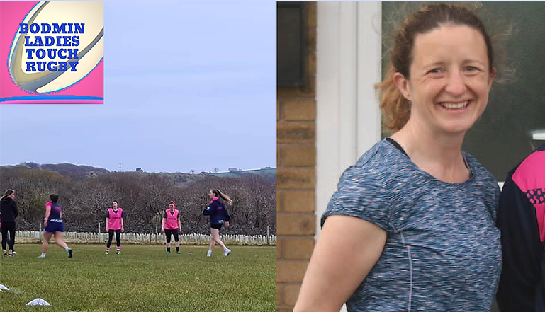 ENGLAND STAR JOINS TRAILBLAZING TEAM - Touch rugby player Joelene Hughes joins female-only club
