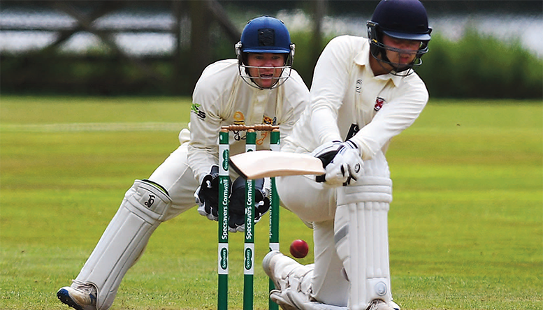 Saints slide to five-wicket loss at hands of local rivals