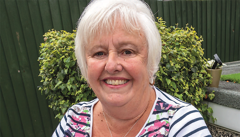 Sally Cole, 70, has worked as a carer at Asheborough House Care Centre in Saltash and has no intention of retiring, because she just loves her job too much PICTURE: PAUL WILLIAMS