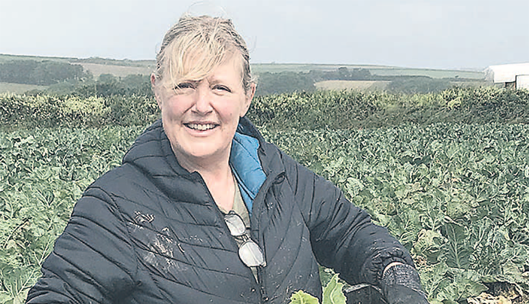 Keen to glean: food is saved