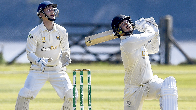 Century from Watkins helps visitors to victory over Truro