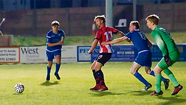 Saltash United manager Dane Bunney says he's delighted to have finally got his man after prolific striker Tom Cleveland agreed to join the Western League newcomers.