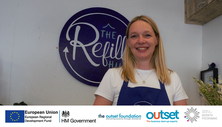 Karen Cornelius, who launched her new business The Refill Hut in April this year.