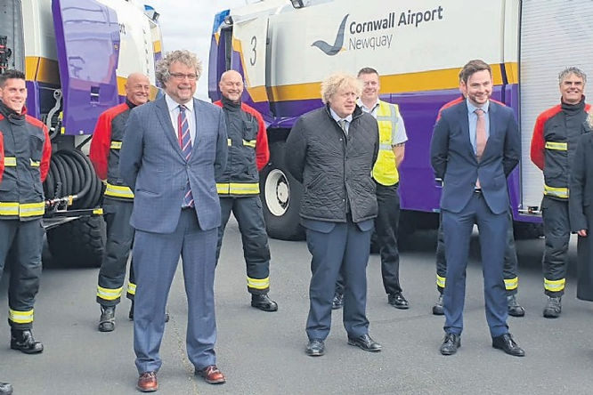 Boris sees airport's £7.8m lift-off