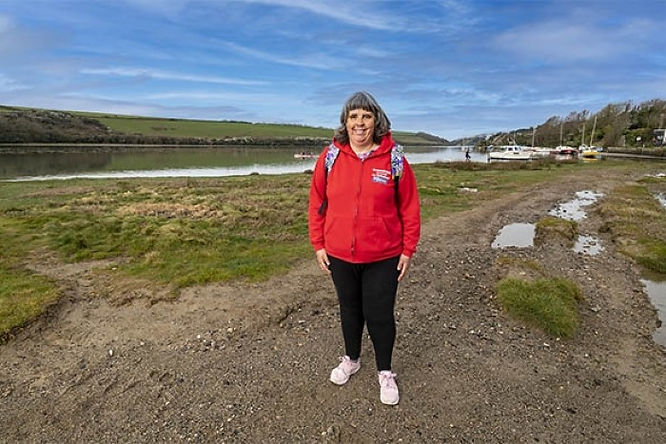 'Thanks for rescuing me', says woman saved from quicksand