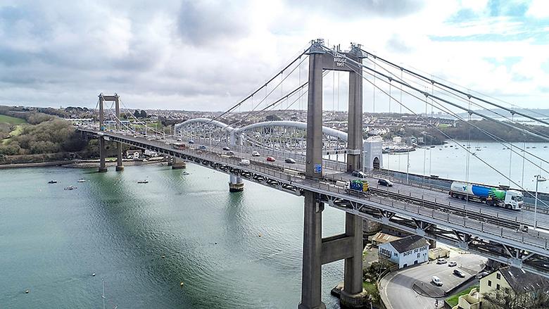 Resurfacing work on Tamar Bridge will begin on June 1, contractors have said.