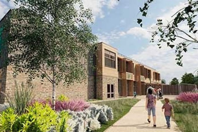 Revealed plans for garden village and zero carbon school