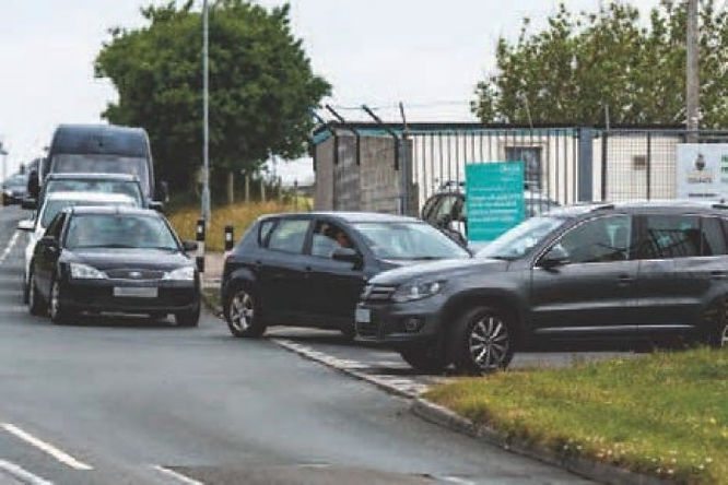 Safety fear over jams at waste centre site
