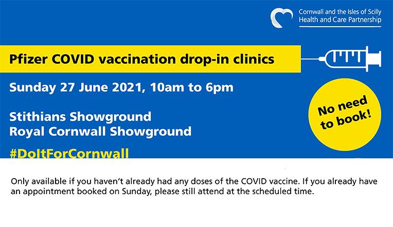 Vaccine Walk-In Clinics