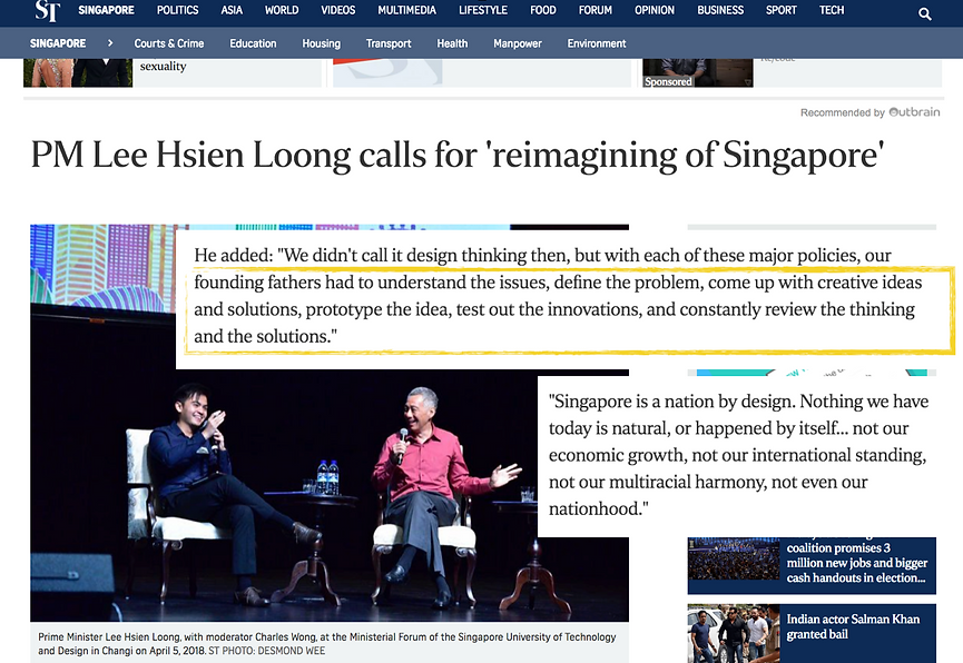 Design Thinking Training Certification Singapore | Emerge Creatives PM Lee