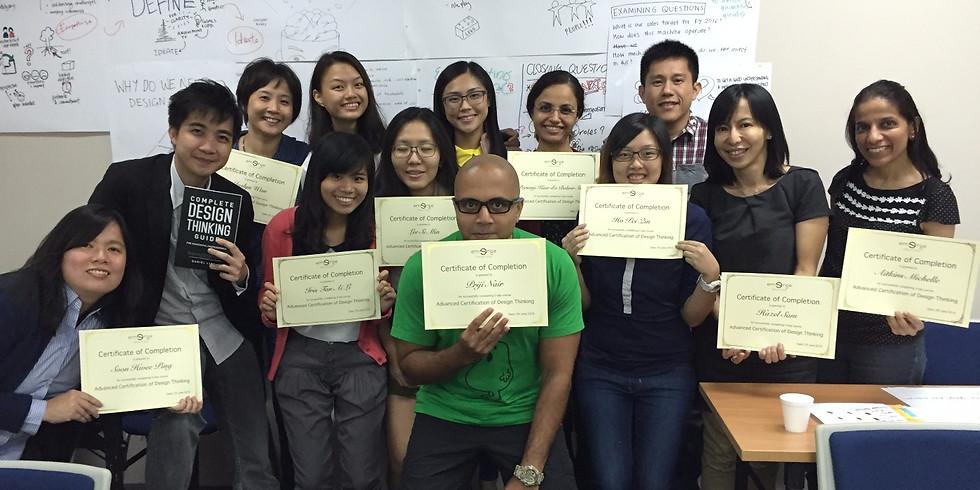 31 May - 2 June 2021 Advanced Design Thinking Certification Masterclass (1)