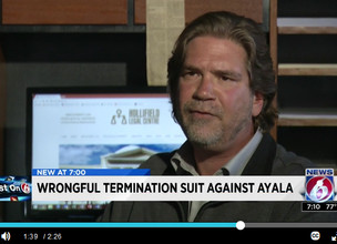 Former assistant attorney sues Ayala for wrongful termination