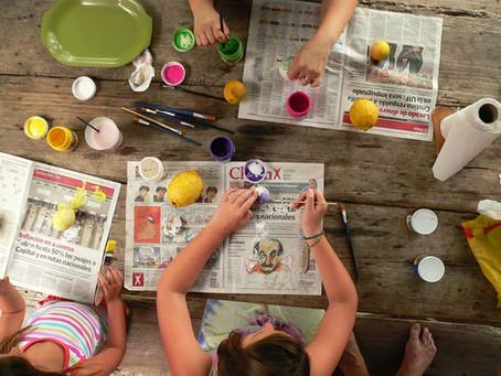 Benefits of Children Making Crafts