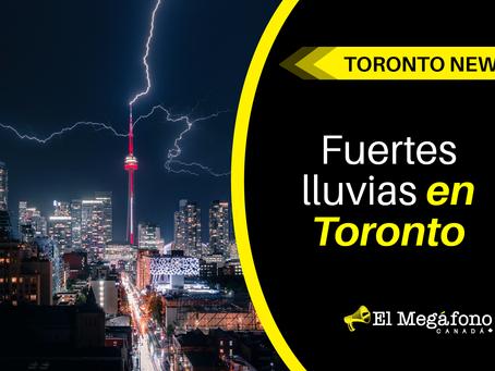 Fuertes lluvias en Toronto