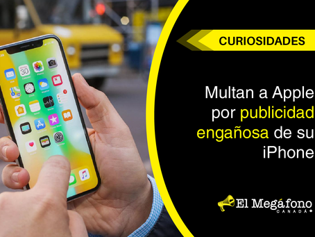 Multan a Apple por publicidad engañosa de su iPhone