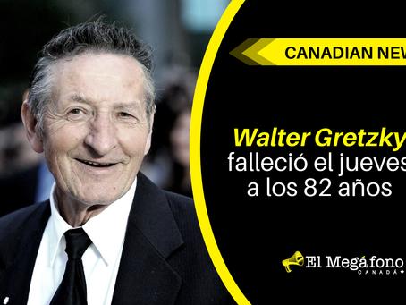 Walter Gretzky falleció el jueves a los 82 años