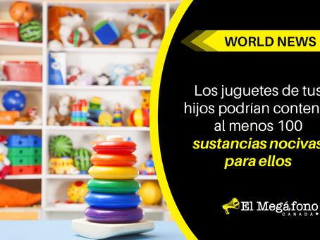 Los juguetes de tus hijos podrían contener al menos 100 sustancias nocivas para ellos