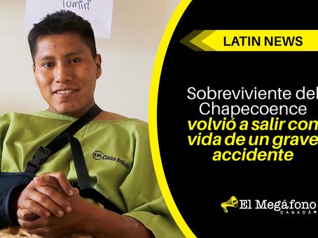 Sobreviviente del Chapecoence volvió a salir con vida de un grave accidente