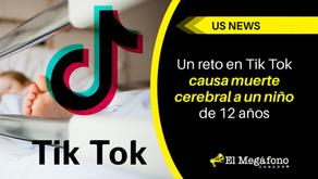 Un reto en Tik Tok causa muerte cerebral a un niño de 12 años