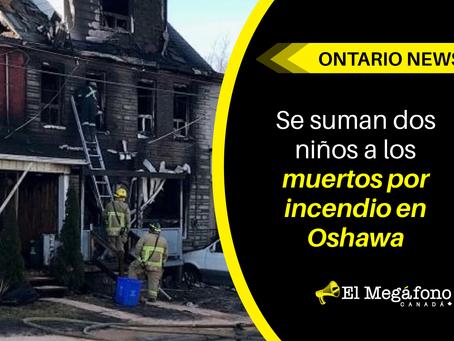 Se suman dos niños a los muertos por incendio en Oshawa