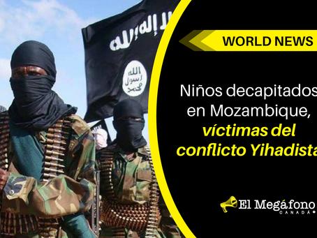 Niños decapitados en Mozambique, víctimas del conflicto Yihadista