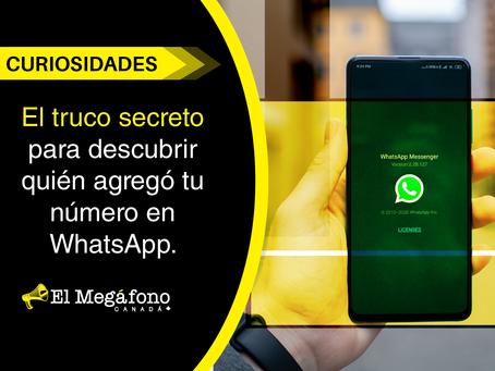 El truco secreto para descubrir quién agregó tu número en WhatsApp