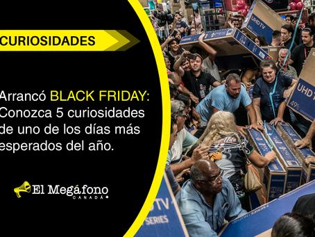 Arrancó BLACK FRIDAY: Conozca 5 curiosidades de uno de los días más esperados del año