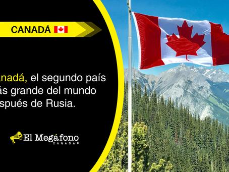 Canadá, el segundo país más grande del mundo después de Rusia.