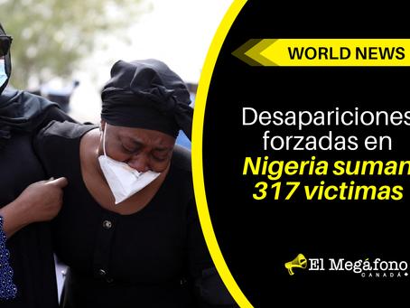 Desapariciones forzadas en Nigeria suman 317 victimas