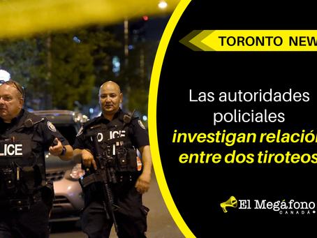 Autoridades policiales investigan relación entre dos tiroteos