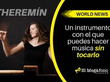 Un instrumento con el que puedes hacer música sin tocarlo