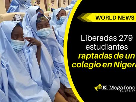Liberadas 279 estudiantes raptadas de un colegio en Nigeria